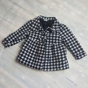 Girls Healthtex Houndstooth Fleece Jacket